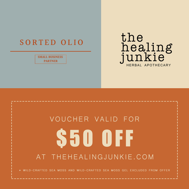 $50 Voucher to use at The Healing Junkie