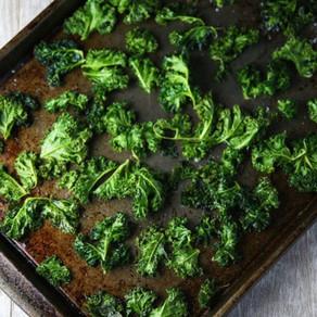 Crispy Garlicky Kale