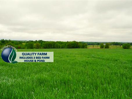 84+/- Acre Quality Farm in Daviess County Missouri. List Price: $357,000