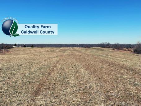 UNDER CONTRACT - Caldwell County Missouri High Tillable Row Crop Farm