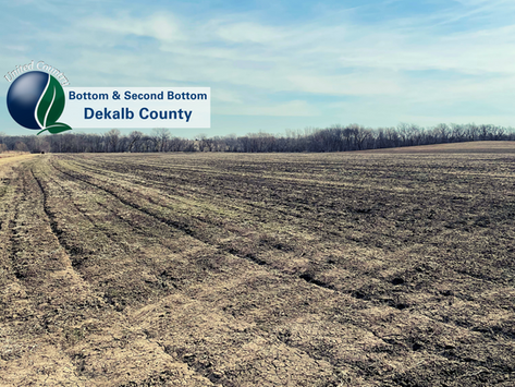 SOLD!! DeKalb County MO Bottom and Second Bottom Land