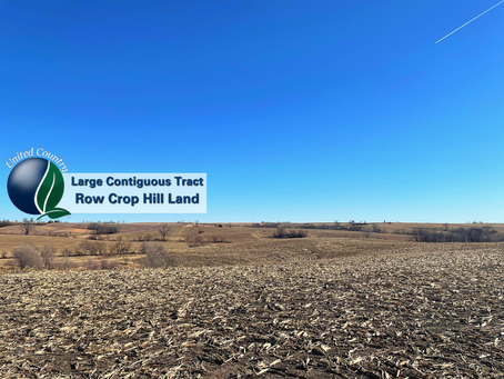 1130+/- Acres Harrison & Gentry County MO Row Crop Hill Farm