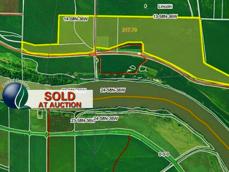 SOLD. 231.25+/- Acres Levee Protected bottom land. Andrew County Missouri
