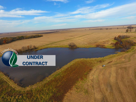SOLD - 160+/- Acres Prime Row Crop, Plus Duck & Deer. Chariton, MO. List Price $1,051,000