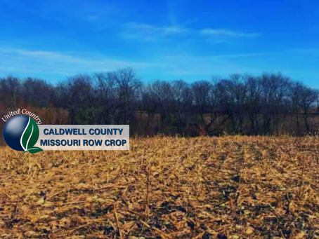 120+/- Acres In Caldwell County Missouri 90+/- Acres Row Crop List Price: $360,000