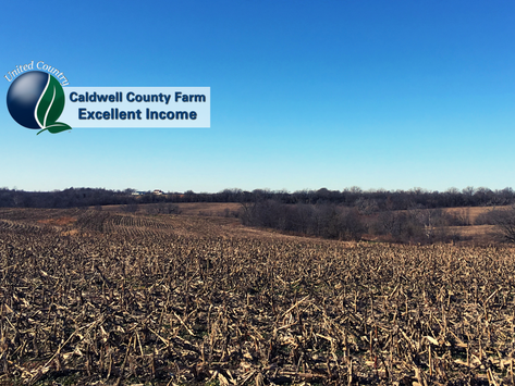 UNDER CONTRACT- Caldwell County Farm with Excellent Income