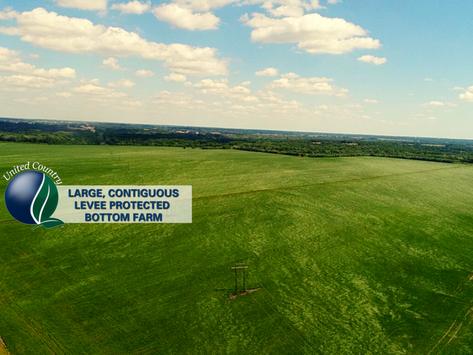 UNDER CONTRACT - 520 +/ Acres Bottom Row Crop Farm, Linn County Missouri. List Price: $3,200,000