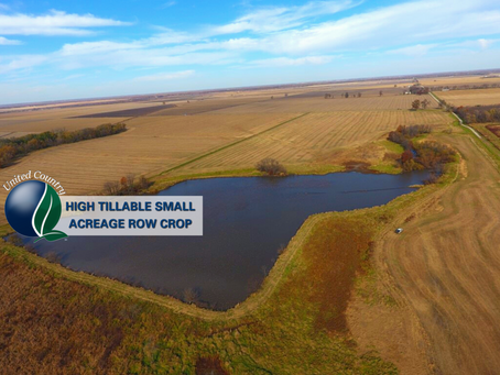 160+/- Acres Prime Row Crop, Plus Duck & Deer. Chariton, MO. List Price $1,051,000