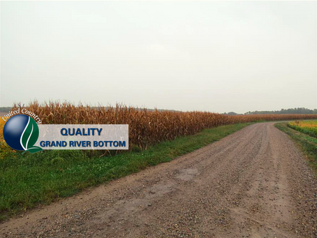 48+/- Acres Grand River Bottom Farm in Gentry County Missouri. List price: $283,200