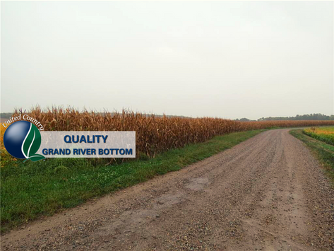 SOLD - 48+/- Acres Grand River Bottom Farm in Gentry County Missouri. List price: $283,200