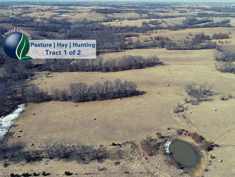 SOLD 146+/- Acres, Pasture, Hay, & Premier Hunting Tract 1 of 2