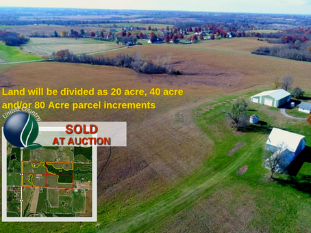 SOLD. 80+/- Acres with Home. Andrew County Missouri