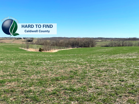 New Listing! 40+/- Acres Caldwell County MO