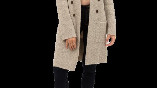 CANDLE QUARTZ long cardigan (available in PLUS)
