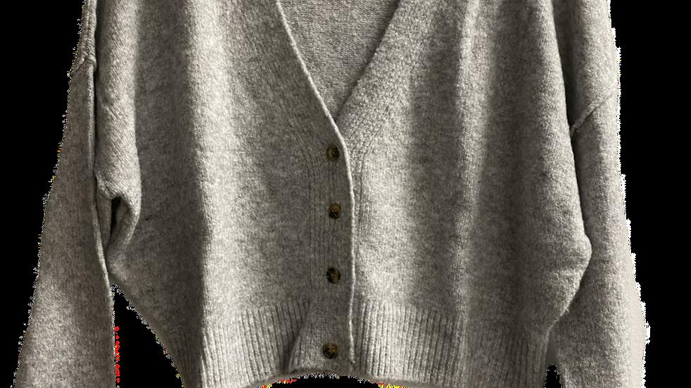 BELL crop cardigan