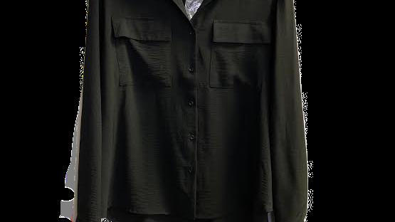 MERRY black PLUS blouse