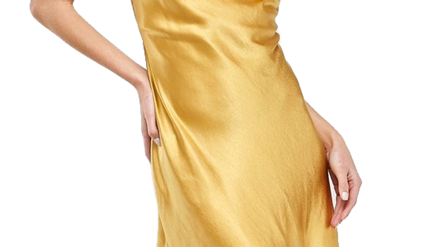 CITRINE slip dress