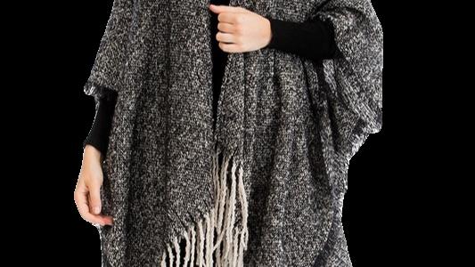 GARNET knit wrap