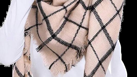 TOPAZ knit oversized scarf