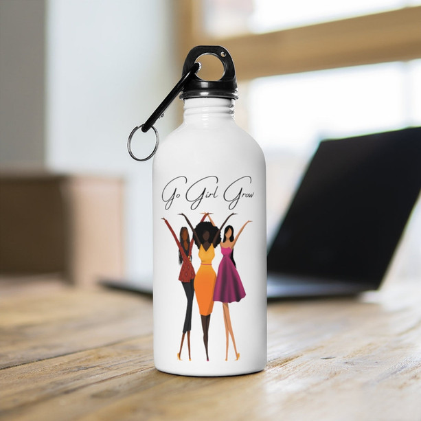 Go Girl Grow Water Bottle