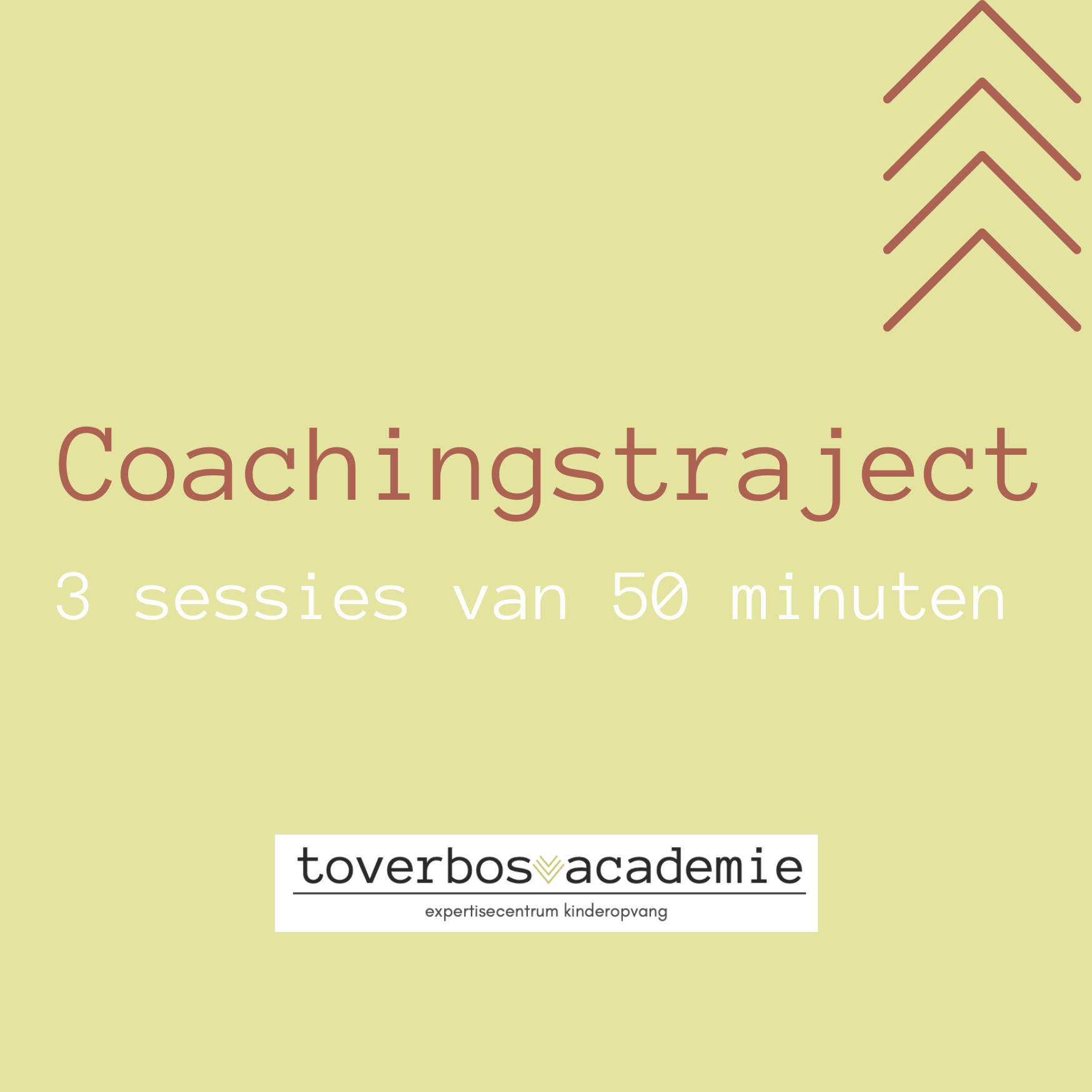 Coachingstraject van 6 weken