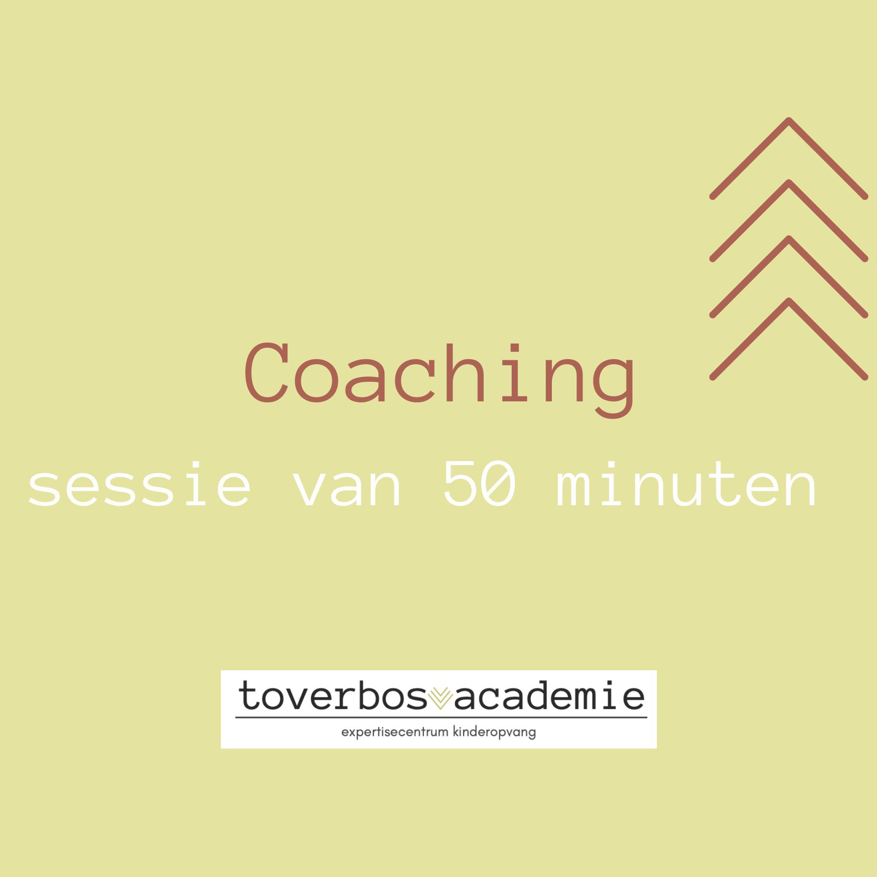 Coachingsessie van 50 minuten