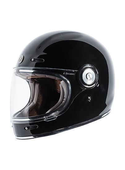 Шлем TORC T1 RETRO GLOSS BLACK