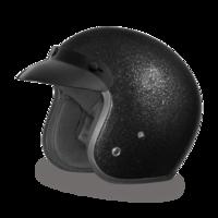 Шлем D.O.T. DAYTONA CRUISER- BLACK METAL FLAKE