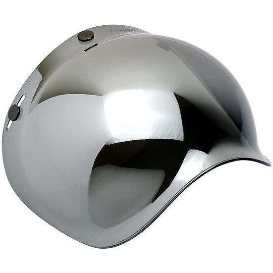 Визор Biltwell Bubble Shield - Mirror Chrome Antifog