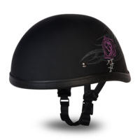 Шлем EAGLE- W/ PURPLE ROSE