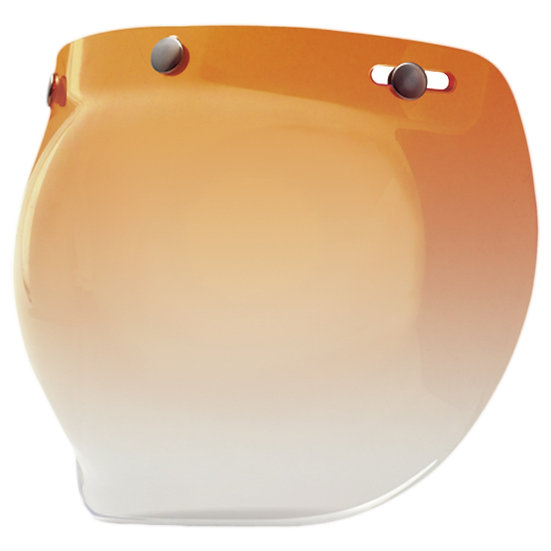 Визор Bell Universal 3 Snap Bubble Faceshield - Amber Gradient