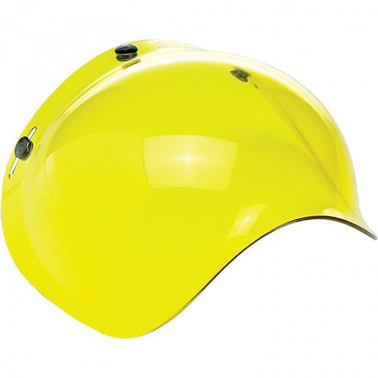 Визор Biltwell Bubble Shield - Yellow Solid Antifog