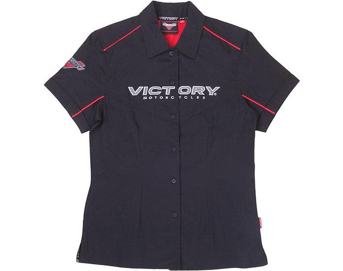 Рубашка женская VICTORY черная