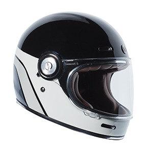 Шлем TORC T-1 FULL FACE RETRO DREAMLINER BLACK GREY