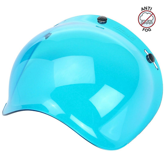 Визор Biltwell Bubble Shield - Blue Solid Antifog