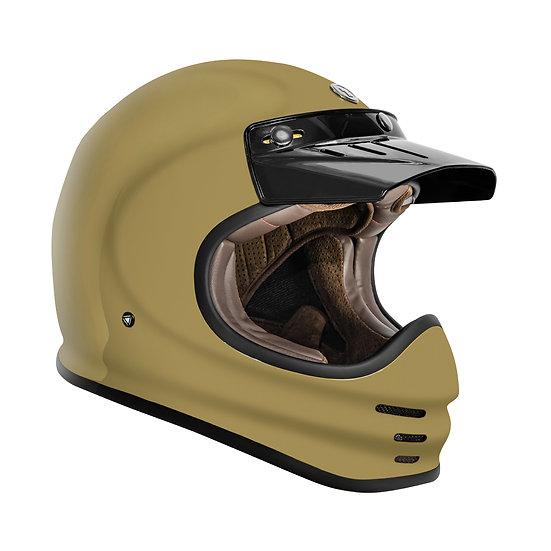 Шлем TORC T-3 FULL FACE RETRO MOTO GLOSS SAND