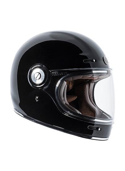 Шлем TORC T-1 FULL FACE RETRO GLOSS BLACK