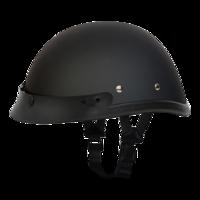 Шлем EAGLE W/ SNAPS- DULL BLACK