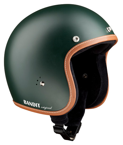 Шлем BANDIT Jet Premium British Racing Green