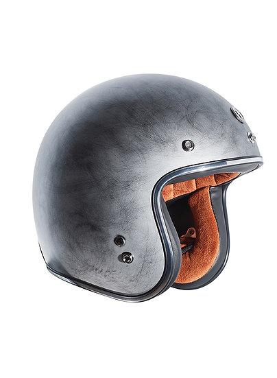 Шлем TORC T-50 3/4 RETRO WEATHERED SILVER