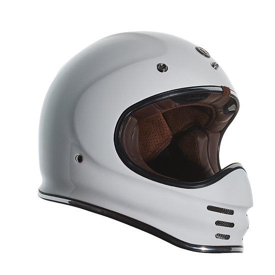Шлем TORC T-3 FULL FACE RETRO MOTO GLOSS WHITE