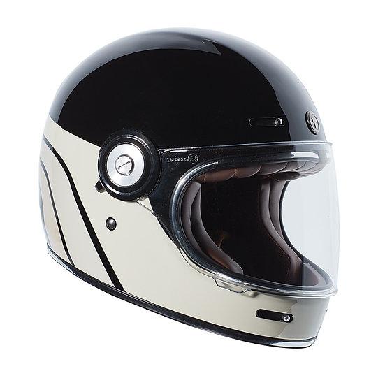 Шлем TORC T-1 FULL FACE RETRO DREAMLINER BLACK TAN