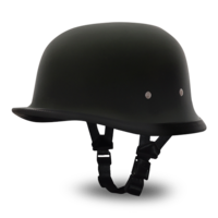 Шлем GERMAN- DULL BLACK
