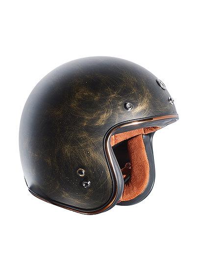 Шлем TORC T-50 3/4 RETRO WEATHERED BRONZE