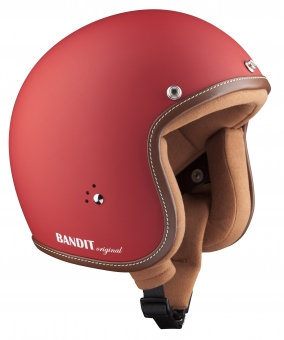 Шлем Bandit Jet  Premium Dull Red