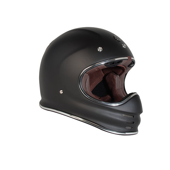 Шлем TORC T-3 FULL FACE RETRO MOTO MATTE BLACK