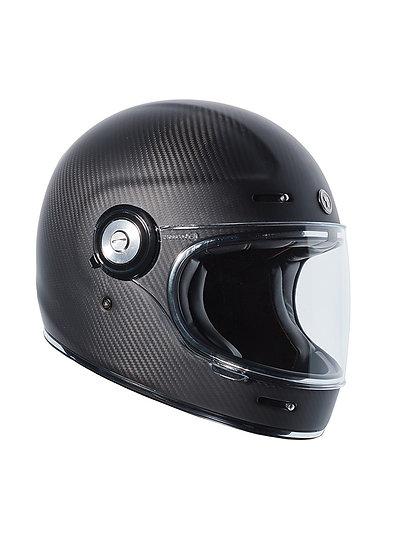 Шлем TORC T-1 FULL FACE CARBON FIBER MATTE BLACK