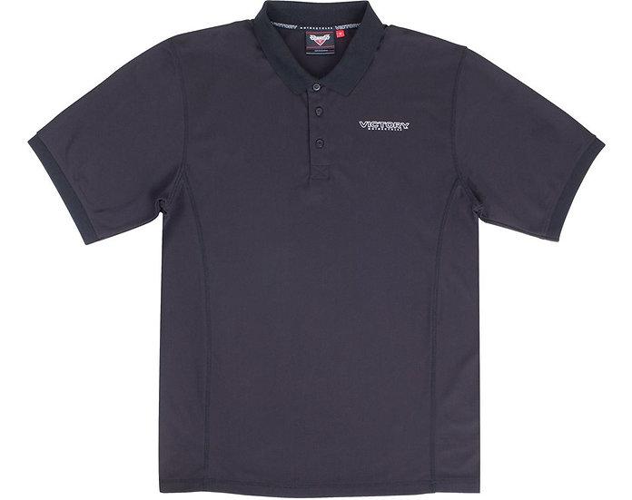 Рубашка MEN'S SHORT SLEEVE LOGO POLO -BLACK