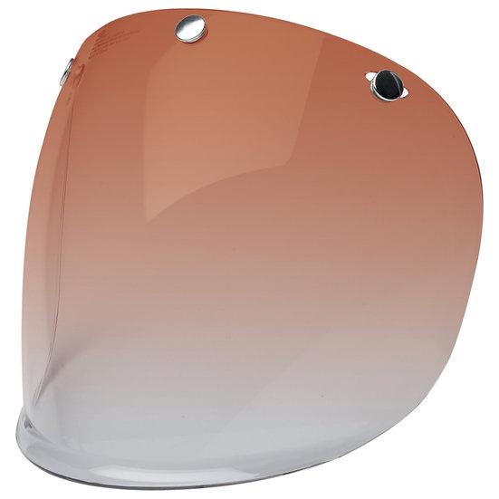 Визор Bell CUSTOM 500 3 Snap Retro Faceshield - Amber Gradient