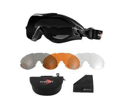 Bobster Phoenix Over The Glass Interchangeable Goggles